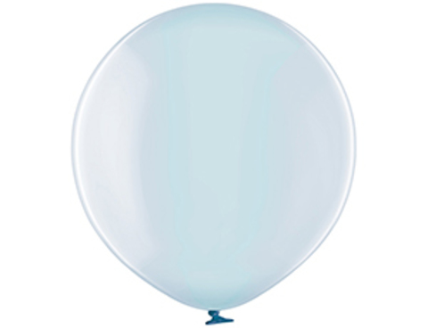 Большой шар кристалл голубой