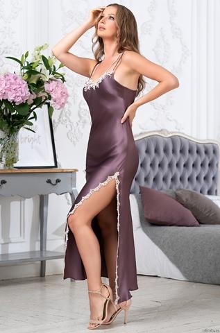 Сорочка женская Mia-Amore BRIGITTE БРИДЖИТ 3688 слива