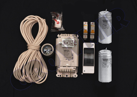 Комплект освещения ДНаТ 1000 Вт (с конденсатором)