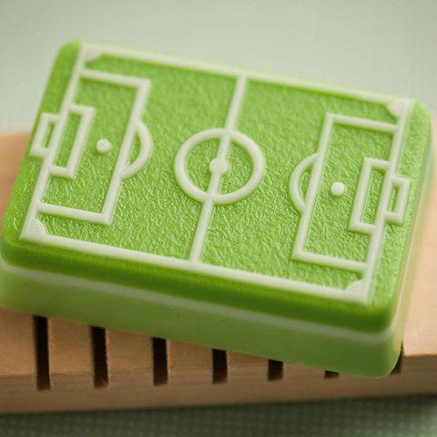 Мыло Футбольное поле. Форма пластиковая