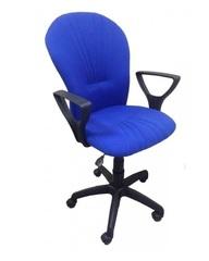 Кресло ВАРНА газлифт ткань синяя