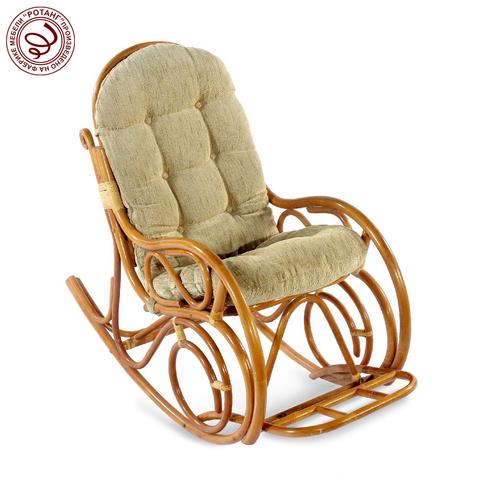 Кресло-качалка с подножкой Custard
