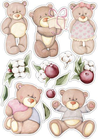 Печать на сахарной бумаге, Набор Детский Праздник 1