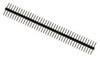 Вилка штыревая / прямая симметричная / 1×40