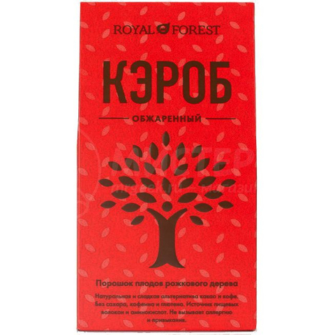 Кэроб Royal Forest слабой обжарки 200г