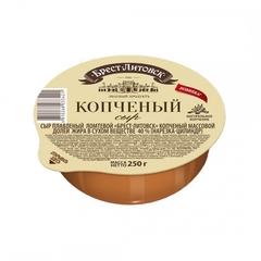 Сыр Брест-Литовск копчёный плавленый ломтевой, 250 гр.
