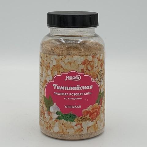 Соль Гималайская розовая с адыгейскими специями Уляпская, 230 гр