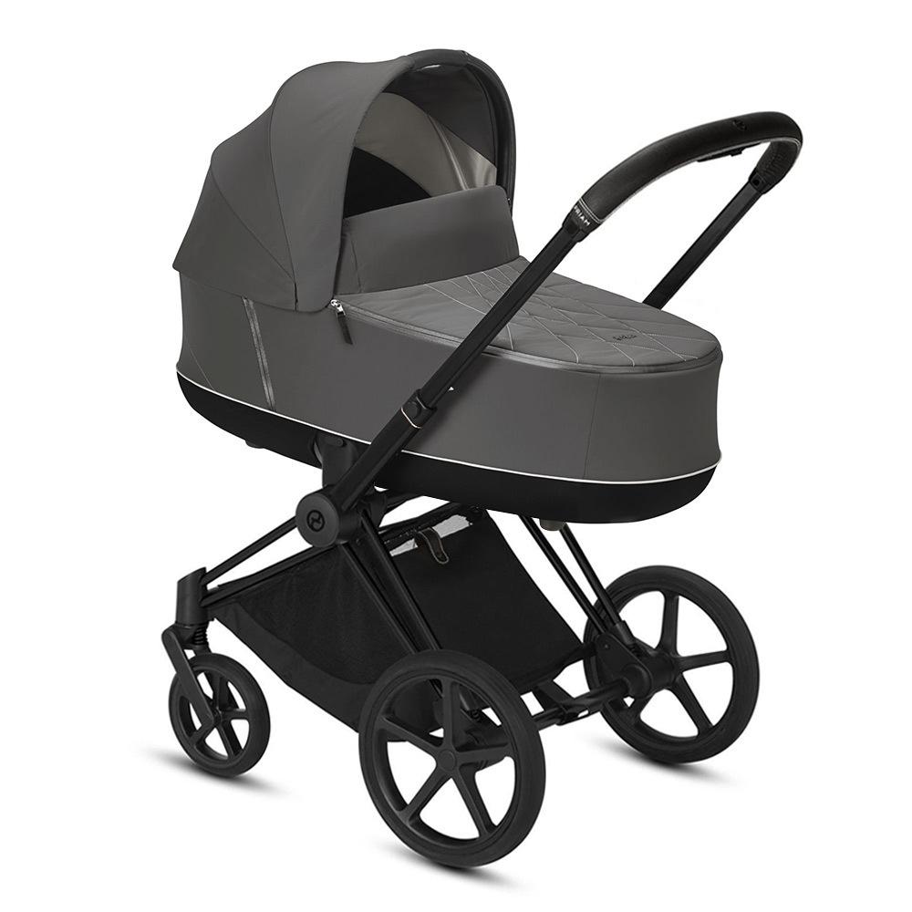 Коляска для новорожденных Cybex Priam III 2020 Коляска для новорожденных Cybex Priam III Soho Grey Matt Black cybex-priam-iii-soho-grey-matt-black.jpg