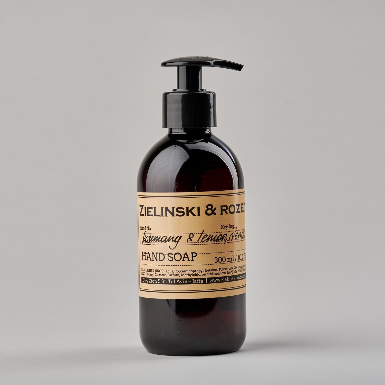Жидкое мыло Rosemary Lemon Neroli ZIELINSKI & ROZEN (300мл)