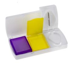 Набор для хранения таблеток с таблеторезкой