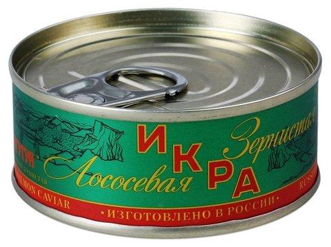 Икра лососевая ТУ (Горбуша), 140 грамм, ж/б,