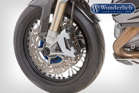 Защита суппортов передняя BMW серебро/титан