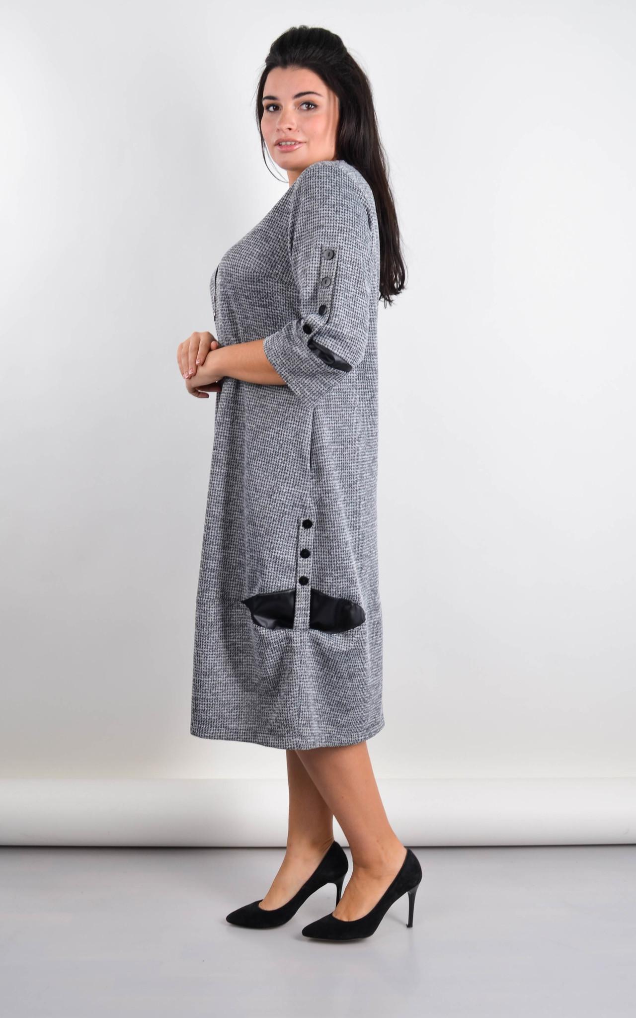 Платье Дениз (cерый)