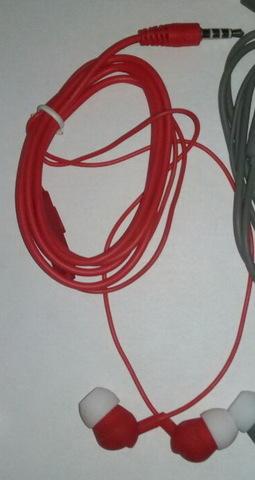 Гарнитура вакуумная S-Music CX-2002 red