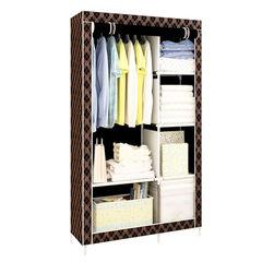 Складной тканевый шкаф Storage Wardrobe (90х45х165см)