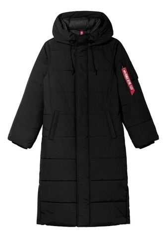 Парка Alpha Industries Sierra Primaloft Black (Черная)