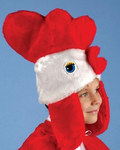 Карнавальная шапочка Петуха