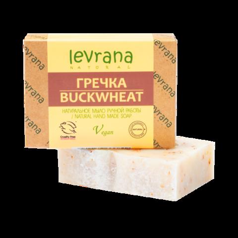 Levrana Натуральное мыло ручной работы Гречка, 100гр