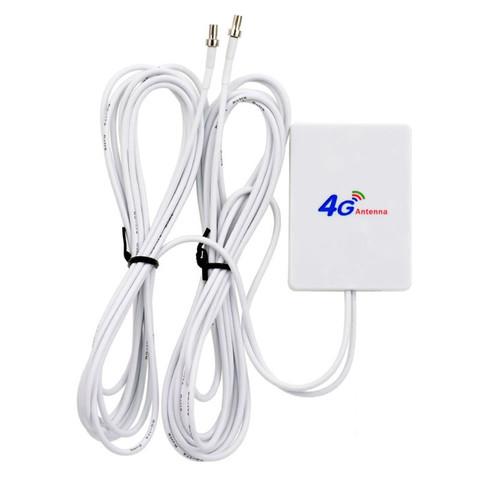 Антенна оконная MiMo 3G 4G усиление 7dBi TS9