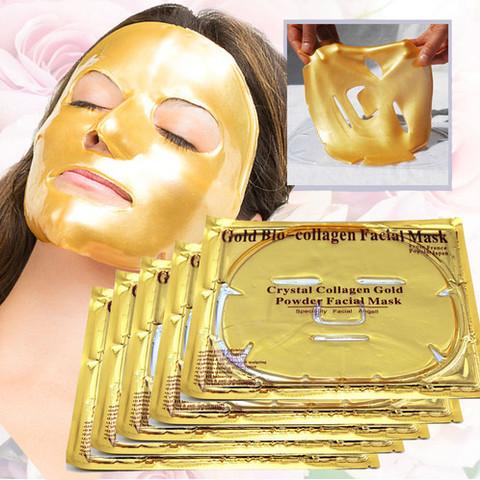 Очищающая коллагеновая маска Collagen Crystal Gold Facial Mask