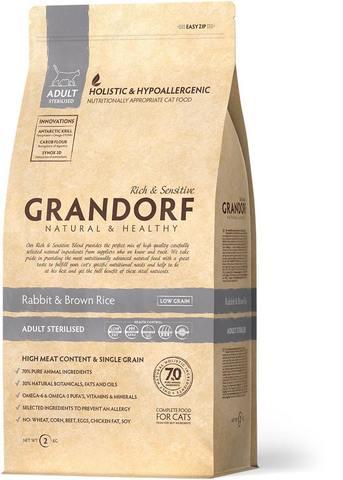 Grandorf Rabbit & Brown Rice Adult Sterilised