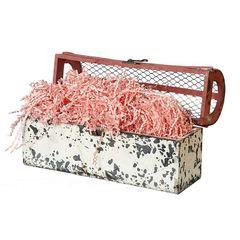 Наполнитель для коробок Бумажный Розовый, 100 г, 2 мм.