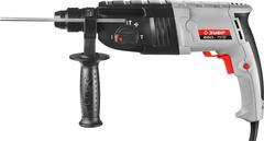 Перфоратор SDS-plus, ЗУБР П-22-650, реверс, горизонтальный, 2.3 Дж, 0-870 об/мин, 0-4850 уд/мин, 650 Вт, кейс