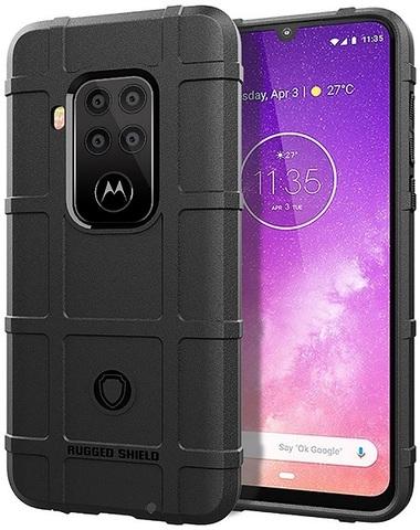 Чехол Motorola Moto One Pro (One Zoom/P40 Note) цвет Black (черный), серия Armor, Caseport
