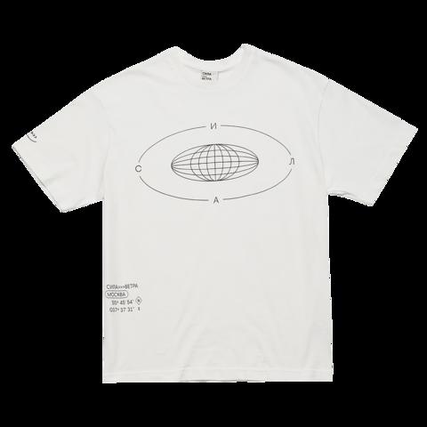 Белая футболка «Сила»