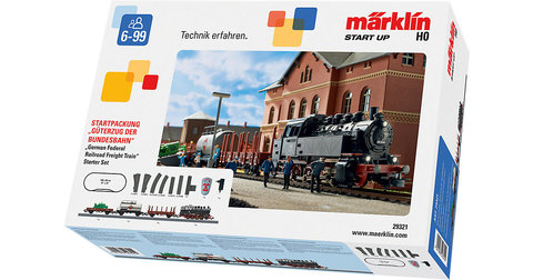 Marklin 29321 Цифровой стартовый набор железной дороги