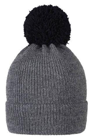 Серая шапочка для мальчика