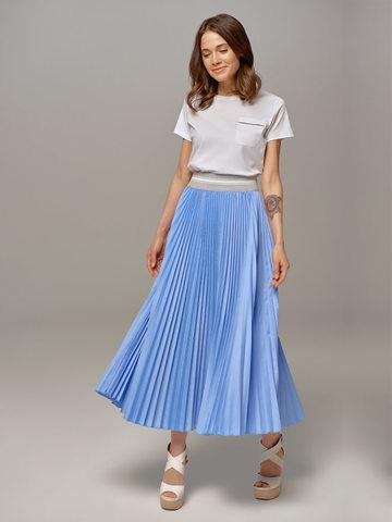Женская юбка цвета деним Eleventy - фото 4