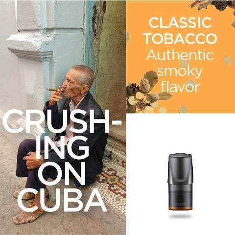 Сменный Картридж RELX 2ml Classic Tobacco 5% (упаковка из 3шт)