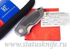 Нож CKF PeaceDuke М390, Карбон, дизайн Малышев