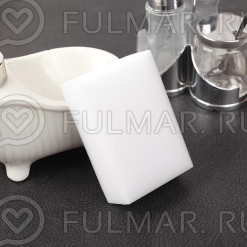 Меламиновая губка-ластик для удаления пятен