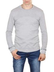 30570-4 футболка мужская дл. рукав, светло-серая