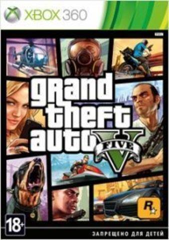 Xbox 360 Grand Theft Auto V (GTA 5) (русские субтитры)