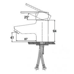 Смеситель KAISER Orbit 20011 для раковины схема