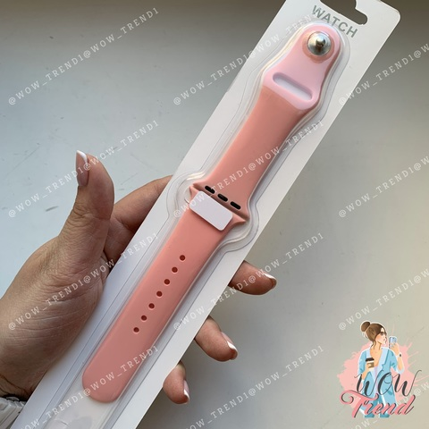 Ремешок Apple watch 42/44mm Sport Band /pink/ пудра