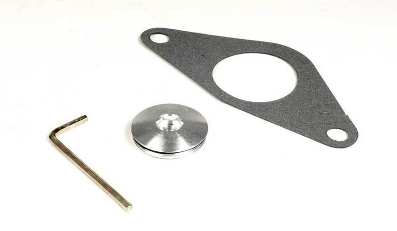 В комплекте прокладка, шестигранник для фиксации клапана и заглушка для разных режимов работы клапана Turbosmart