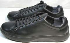 Черные осенние кроссовки мужские GS Design 5773 Black