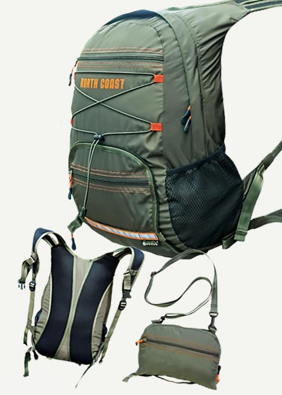 Рюкзак складной North Coast, зеленый