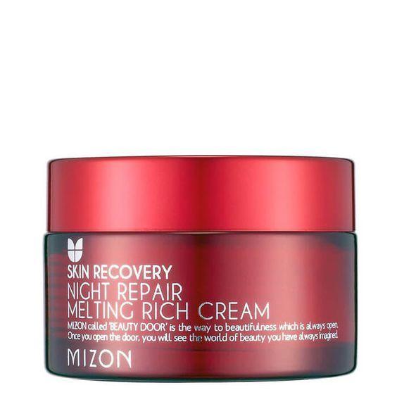 Тающий насыщенный ночной крем |Mizon | night repair melting rich cream (50ml)