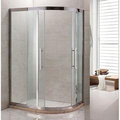 Душевое ограждение Grossman PR-120SL серебро, 120х80 L, с раздвижными дверьми, прямоугольное