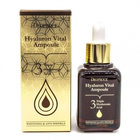 DEOPROCE HYALURON VITAL AMPOULE