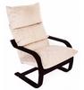 Кресло «Онега», ткань карамель, каркас венге структура, GREENTREE, г. Воронеж