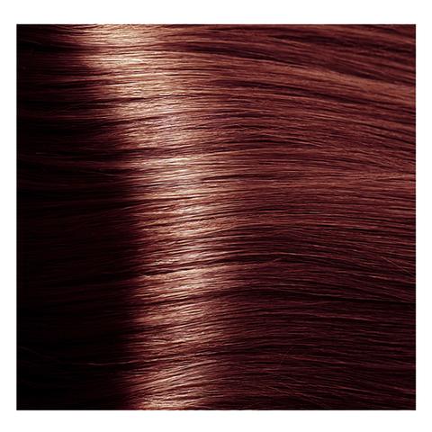 Крем краска для волос с гиалуроновой кислотой Kapous, 100 мл - HY 5.5  Светлый коричневый махагоновый