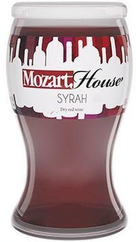 Вино столовое Сира Моцарт Хаус красное сухое 0,187л.
