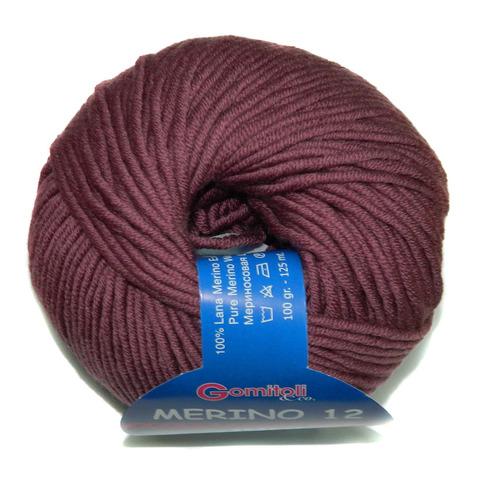 Купить Пряжа BBB Merino 12-50 Код цвета 0019 | Интернет-магазин пряжи «Пряха»