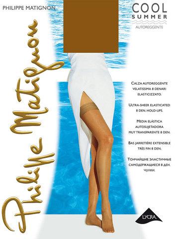 Чулки Cool Summer 8 Bas Jarretiere Philippe Matignon